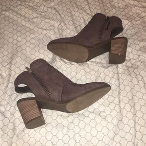 Open heeled cowgirl Ortholite booties